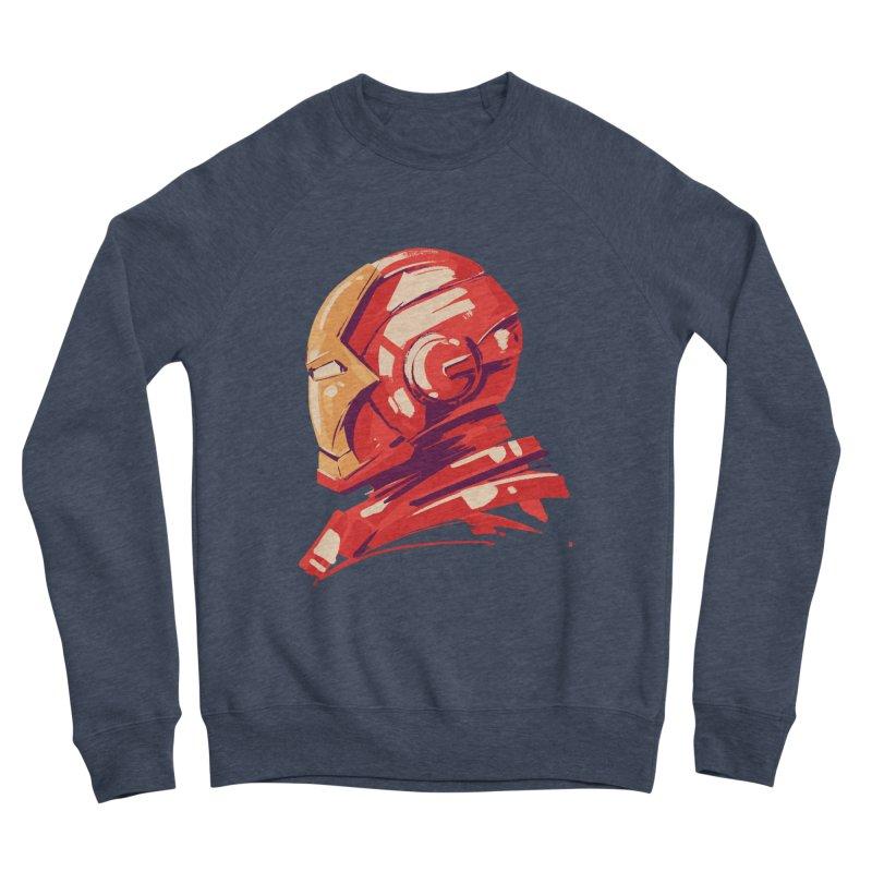 Love you 3000 // Iron Man Men's Sponge Fleece Sweatshirt by MB's Collection