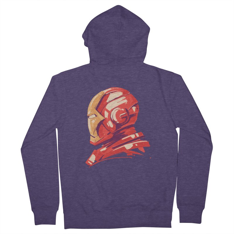 Love you 3000 // Iron Man Men's French Terry Zip-Up Hoody by MB's Collection