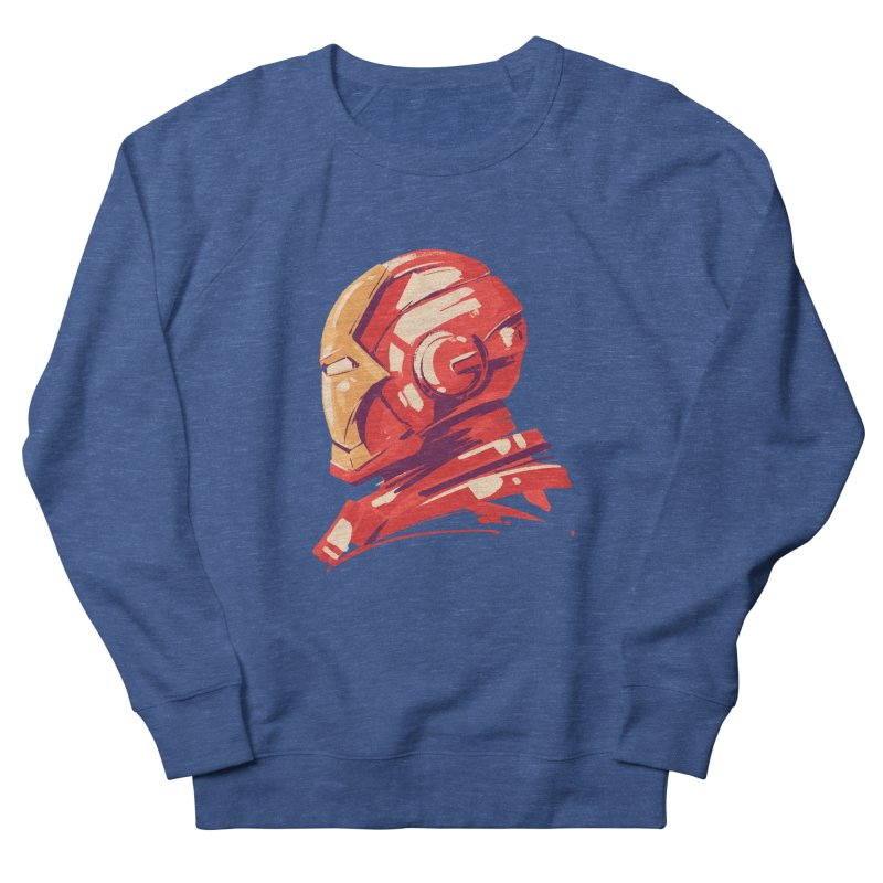 Love you 3000 // Iron Man Women's French Terry Sweatshirt by MB's Collection