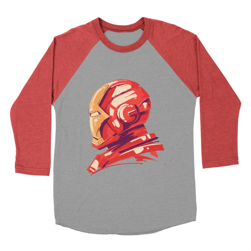 Love you 3000 // Iron Man Women's Baseball Triblend Longsleeve T-Shirt by MB's Collection