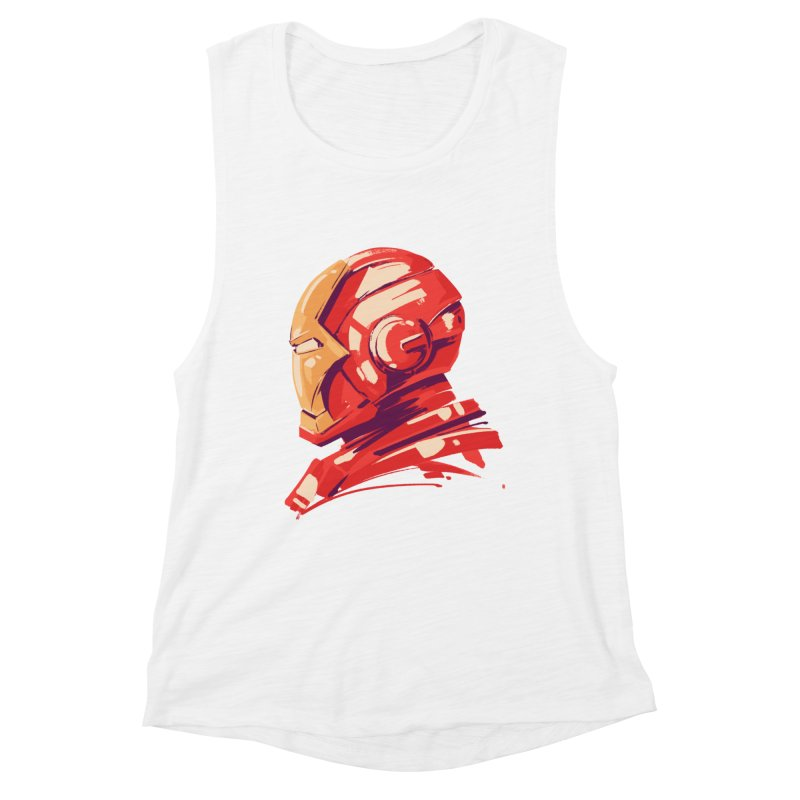Love you 3000 // Iron Man Women's Muscle Tank by MB's Collection