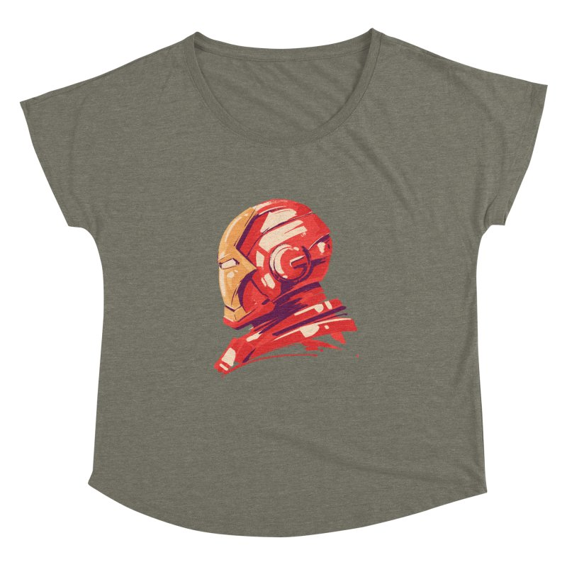 Love you 3000 // Iron Man Women's Dolman Scoop Neck by MB's Collection