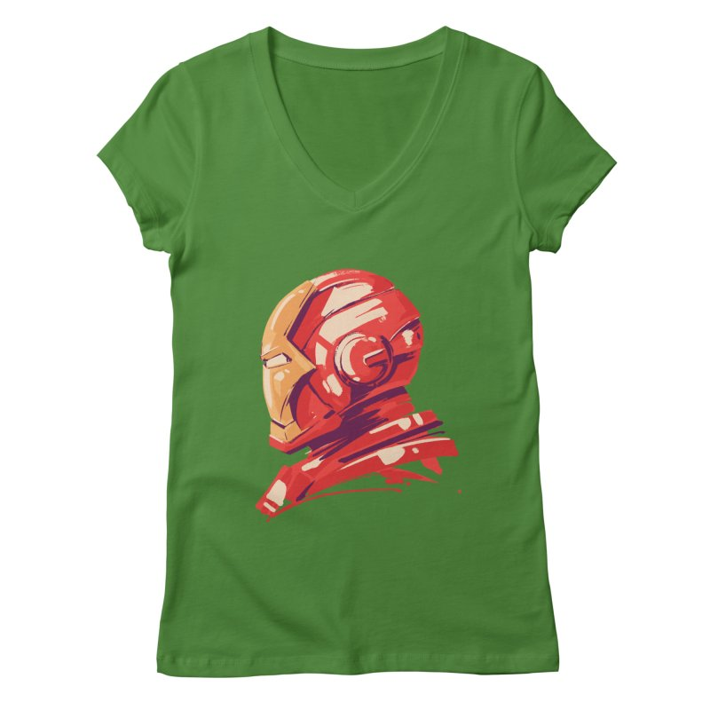 Love you 3000 // Iron Man Women's Regular V-Neck by MB's Collection