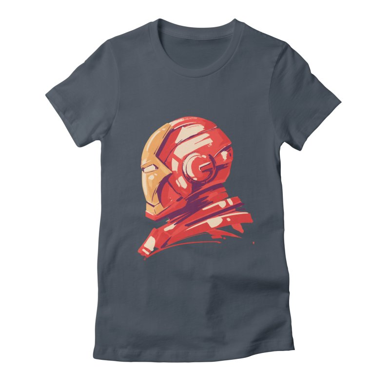 Love you 3000 // Iron Man Women's Fitted T-Shirt by MB's Collection