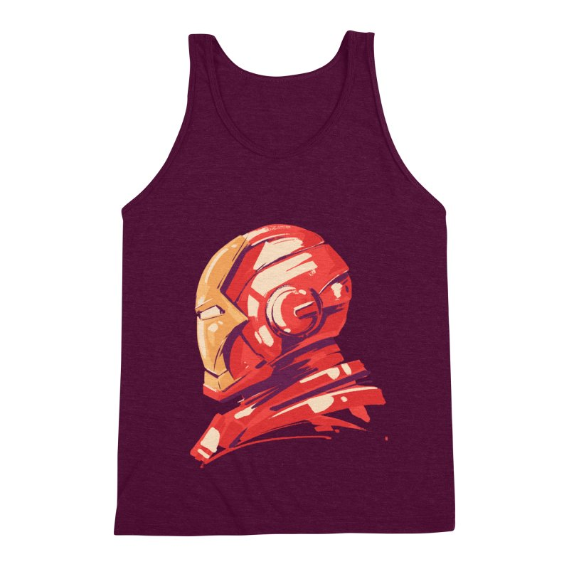 Love you 3000 // Iron Man Men's Triblend Tank by MB's Collection