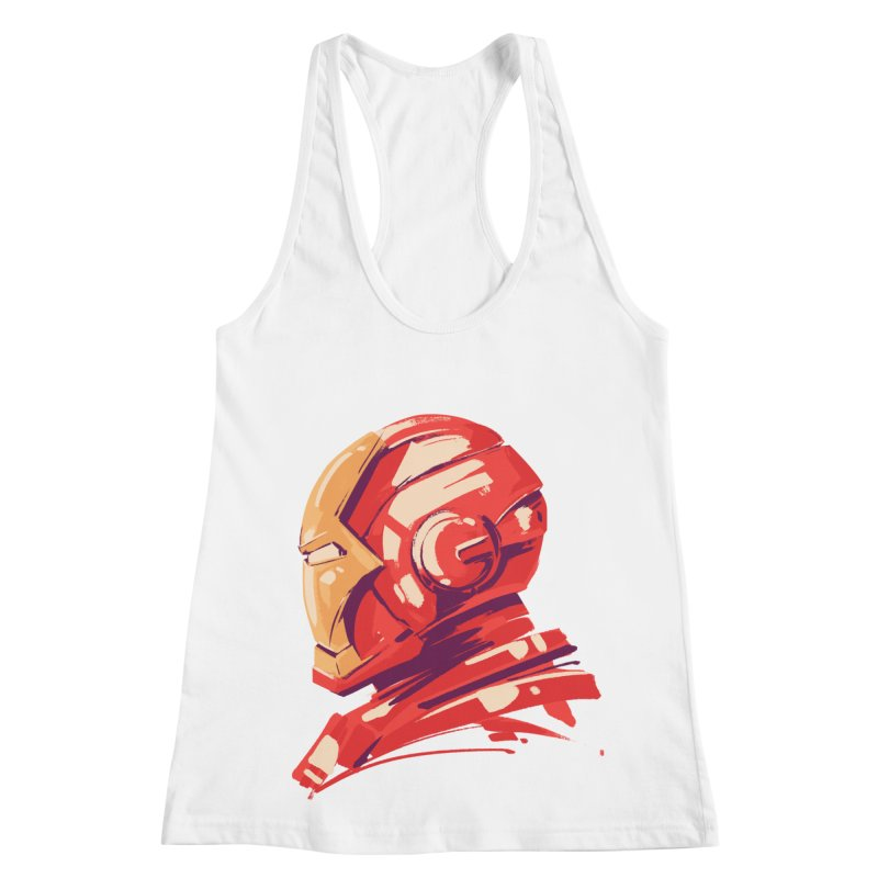 Love you 3000 // Iron Man Women's Racerback Tank by MB's Collection