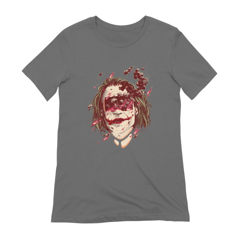 The Joker Women's Extra Soft T-Shirt by MB's Collection