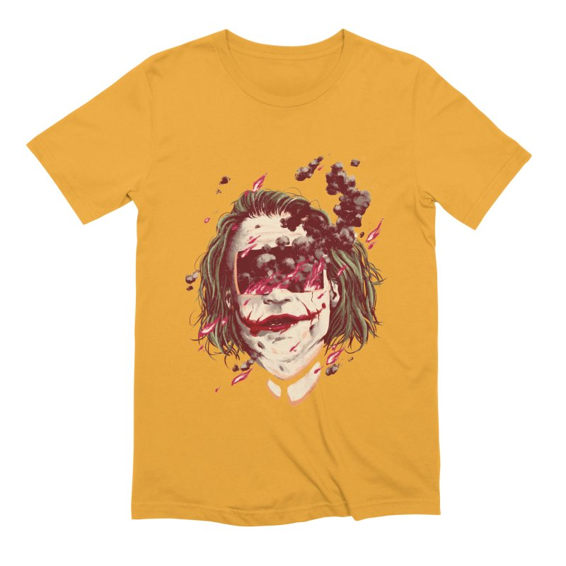The Joker Men's Extra Soft T-Shirt by MB's Collection