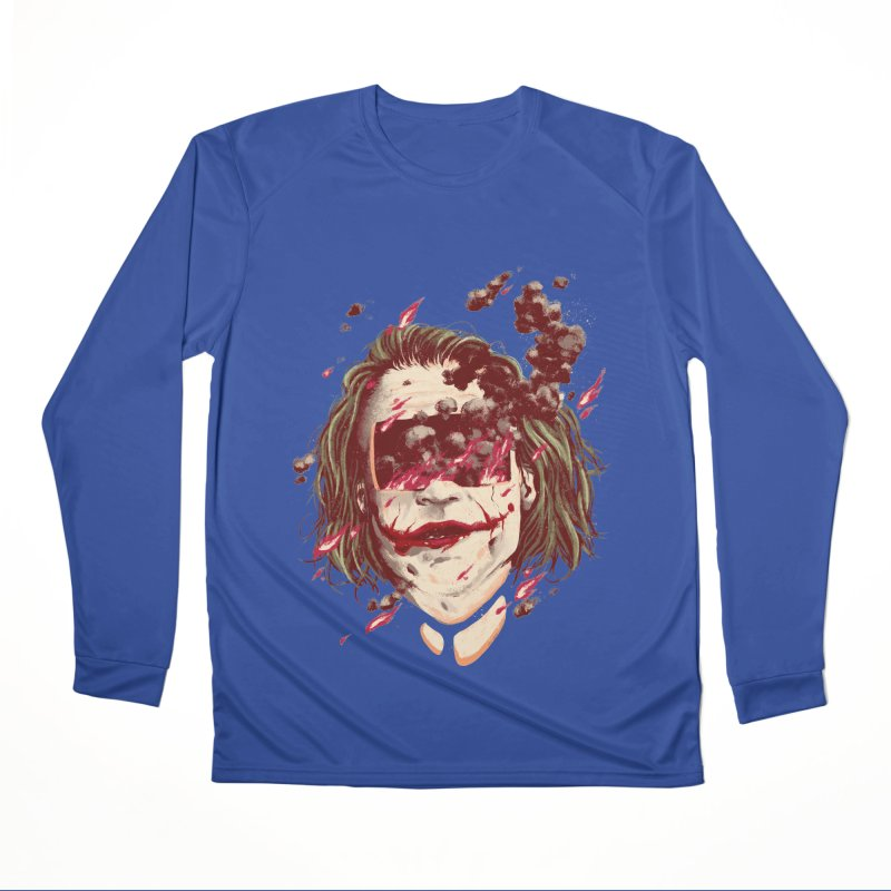 The Joker Women's Performance Unisex Longsleeve T-Shirt by MB's Collection
