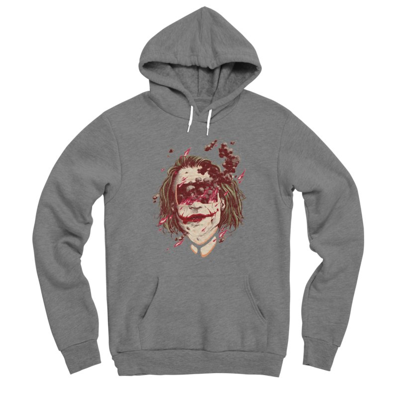 The Joker Women's Sponge Fleece Pullover Hoody by MB's Collection