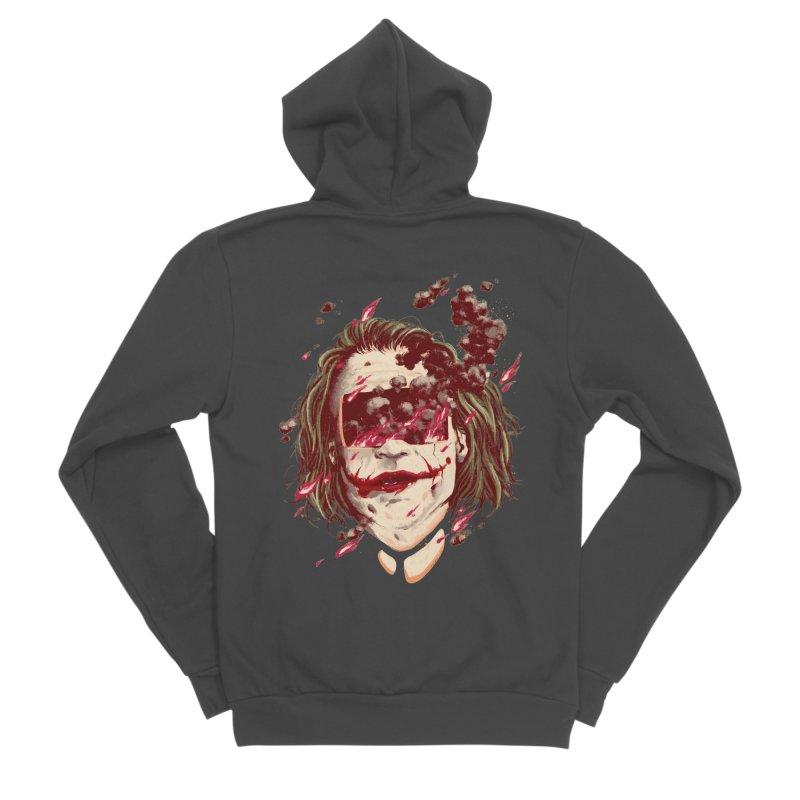 The Joker Men's Sponge Fleece Zip-Up Hoody by MB's Collection