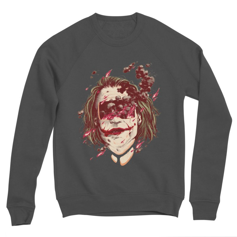 The Joker Women's Sponge Fleece Sweatshirt by MB's Collection