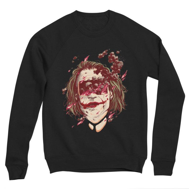 The Joker Men's Sponge Fleece Sweatshirt by MB's Collection