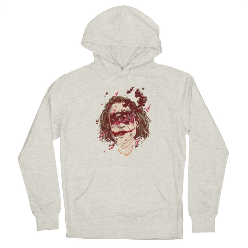 The Joker Men's French Terry Pullover Hoody by MB's Collection