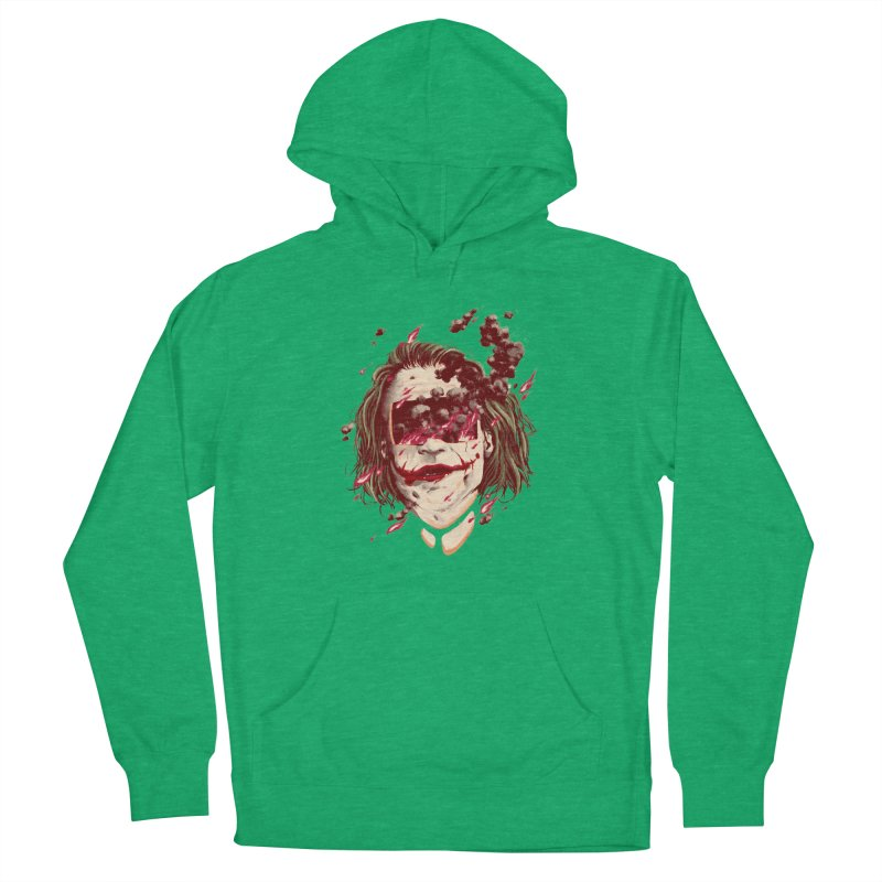 The Joker Women's French Terry Pullover Hoody by MB's Collection