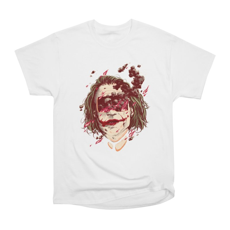 The Joker Men's Heavyweight T-Shirt by MB's Collection