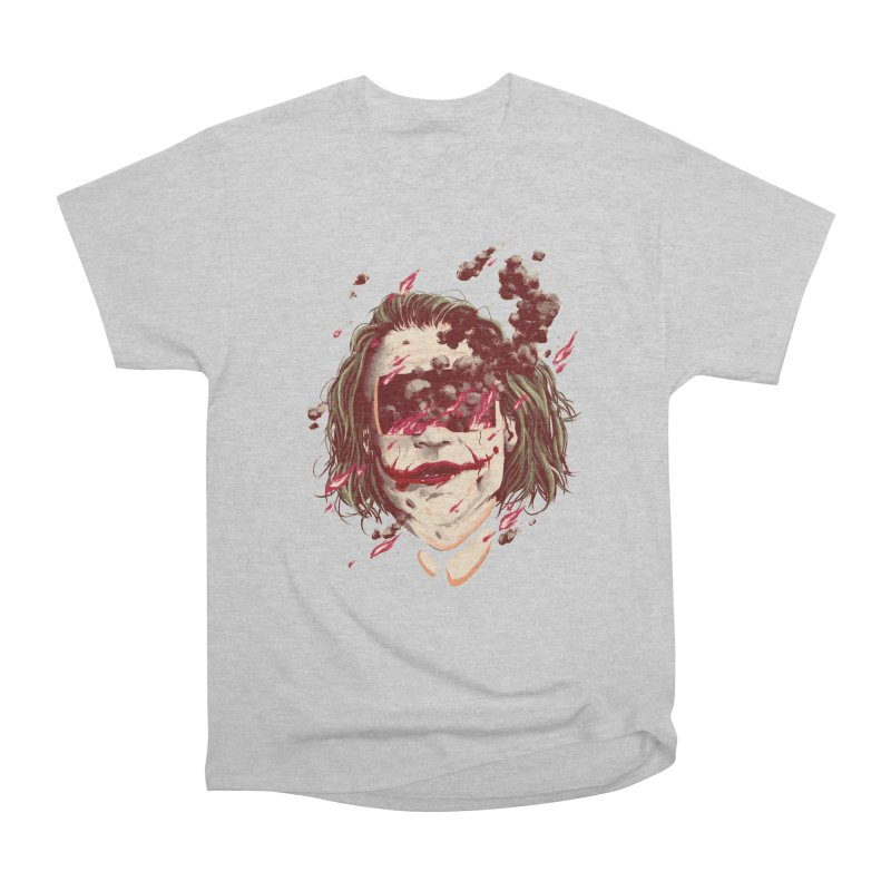 The Joker Men's Heavyweight T-Shirt by MB's Collection