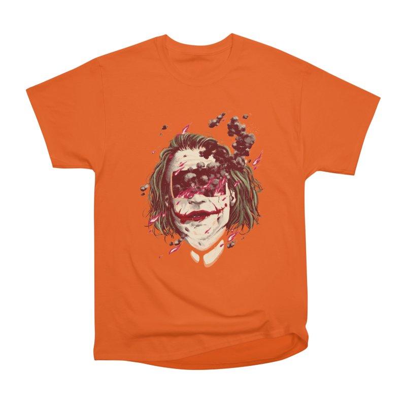 The Joker Women's Heavyweight Unisex T-Shirt by MB's Collection
