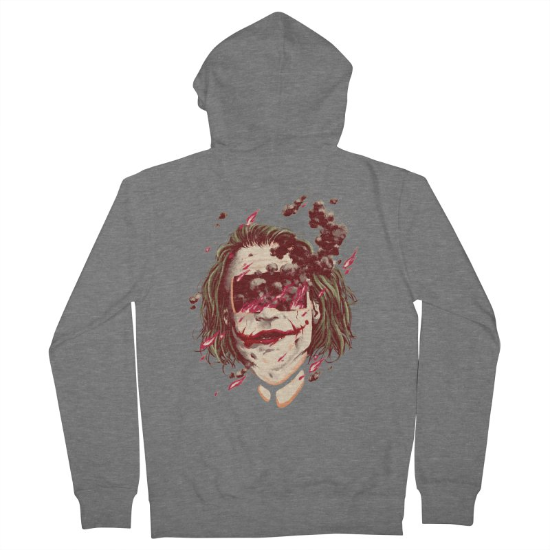 The Joker Women's French Terry Zip-Up Hoody by MB's Collection