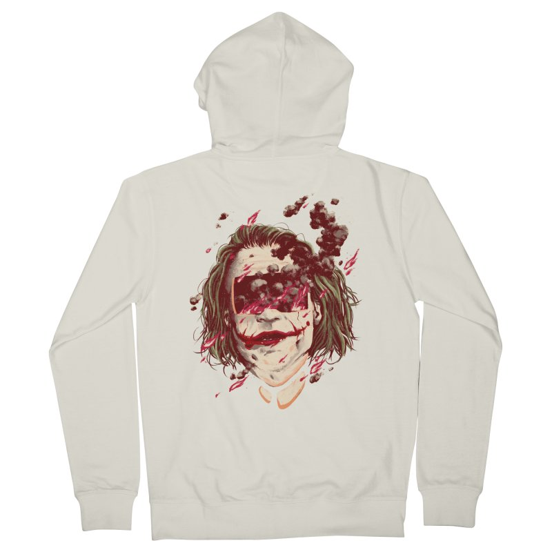 The Joker Men's French Terry Zip-Up Hoody by MB's Collection