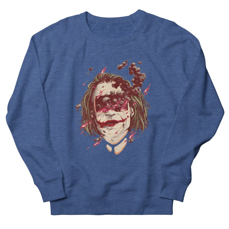 The Joker Women's French Terry Sweatshirt by MB's Collection