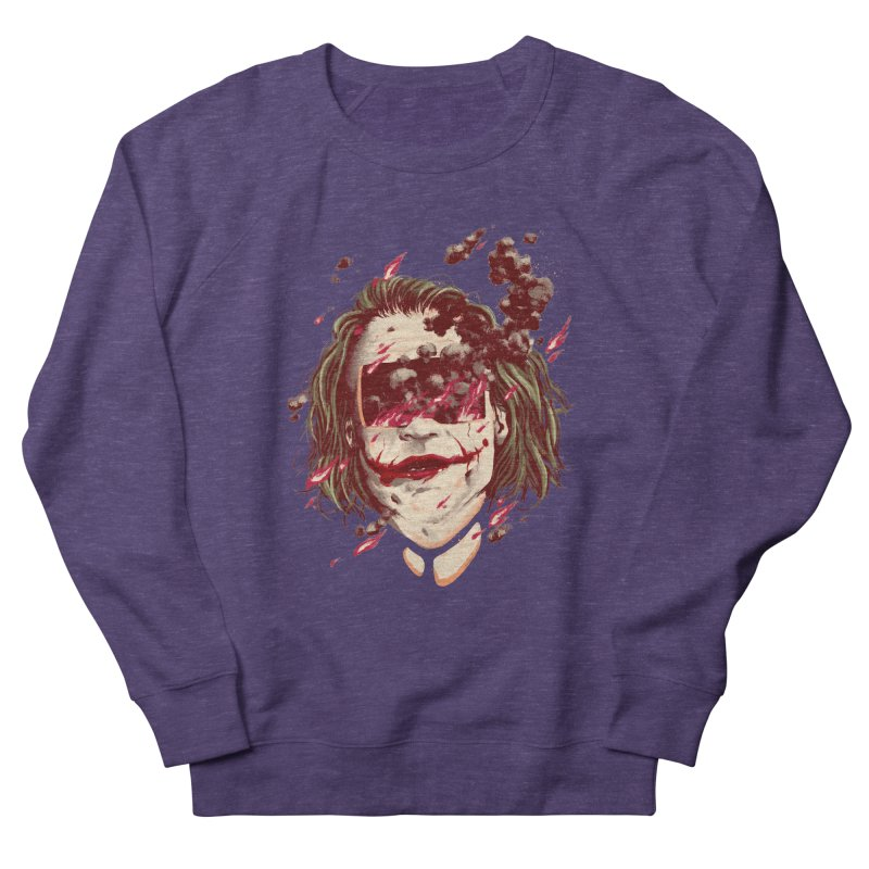 The Joker Men's French Terry Sweatshirt by MB's Collection