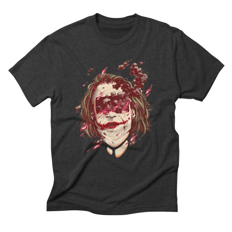 The Joker Men's Triblend T-Shirt by MB's Collection