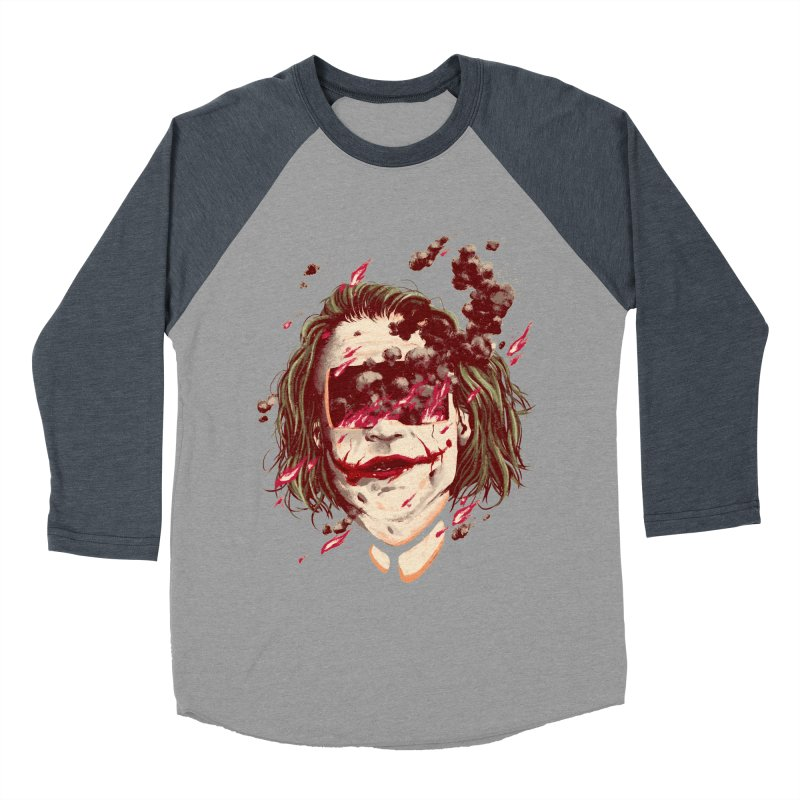 The Joker Women's Baseball Triblend Longsleeve T-Shirt by MB's Collection