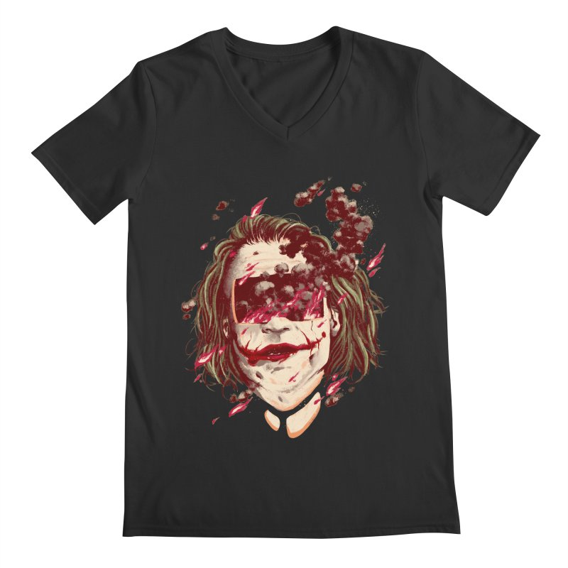The Joker Men's Regular V-Neck by MB's Collection