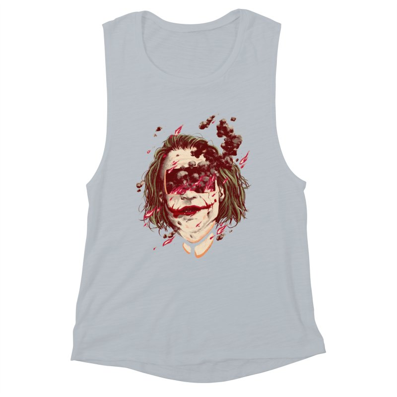 The Joker Women's Muscle Tank by MB's Collection