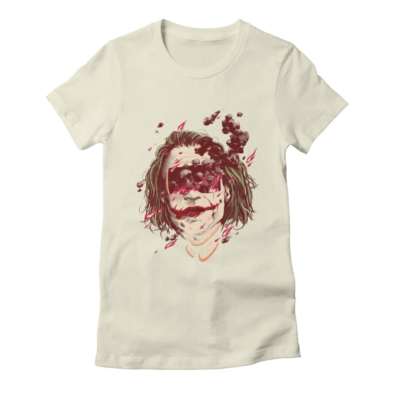 The Joker Women's Fitted T-Shirt by MB's Collection