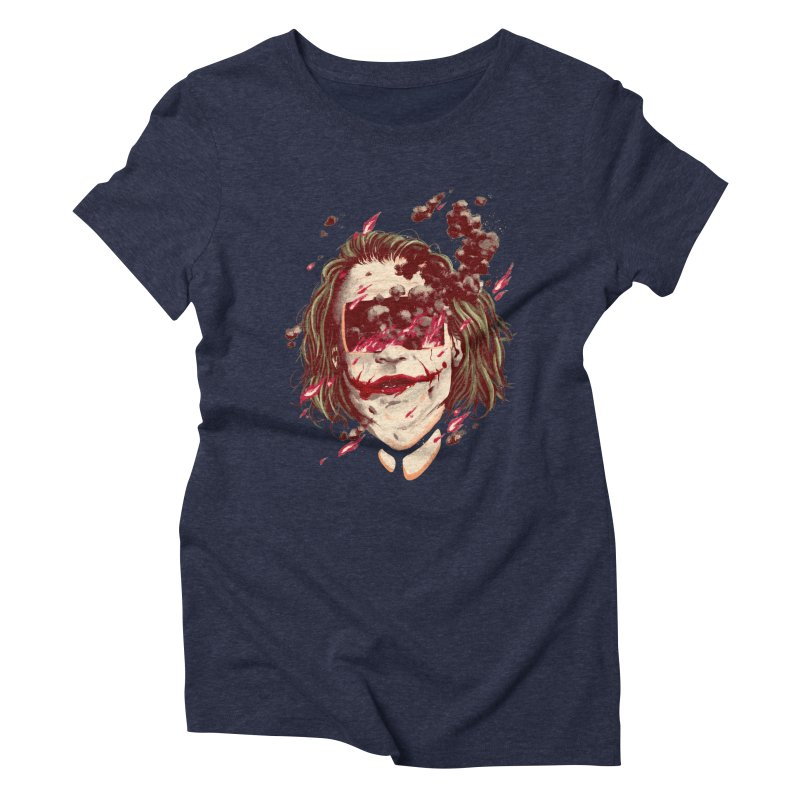 The Joker Women's Triblend T-Shirt by MB's Collection