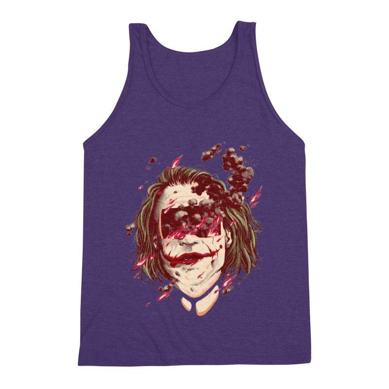 The Joker Men's Triblend Tank by MB's Collection