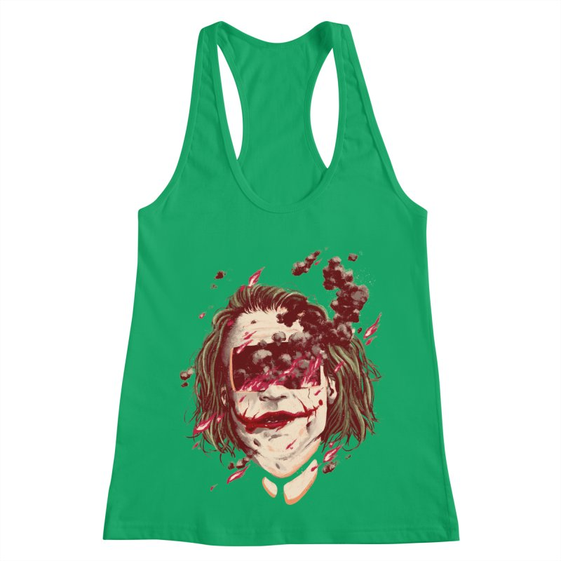 The Joker Women's Racerback Tank by MB's Collection