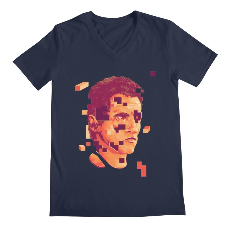 The Terminator Men's Regular V-Neck by MB's Collection