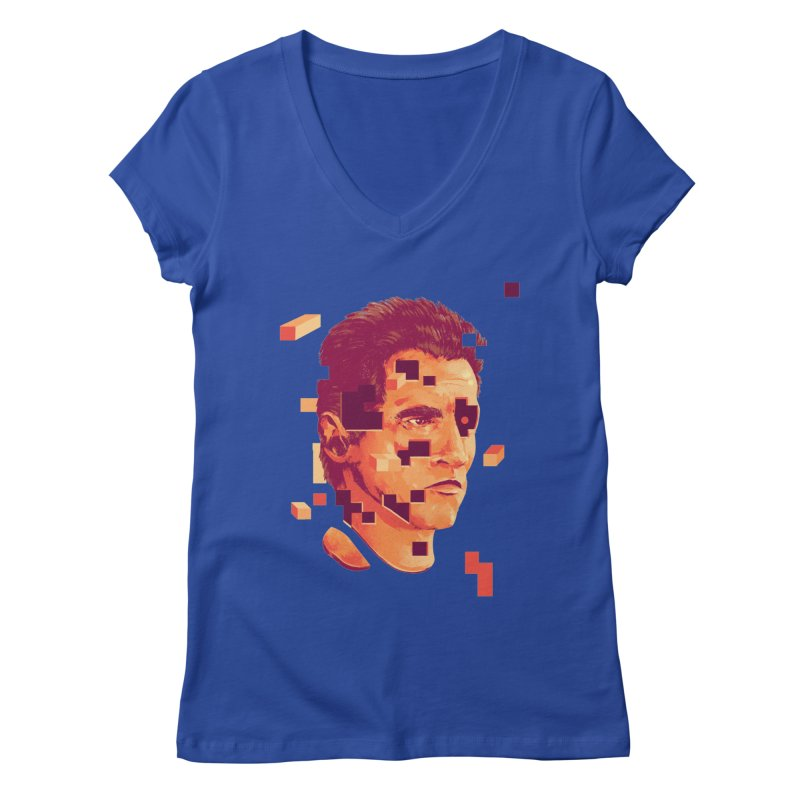 The Terminator Women's Regular V-Neck by MB's Collection