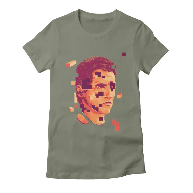 The Terminator Women's Fitted T-Shirt by MB's Collection