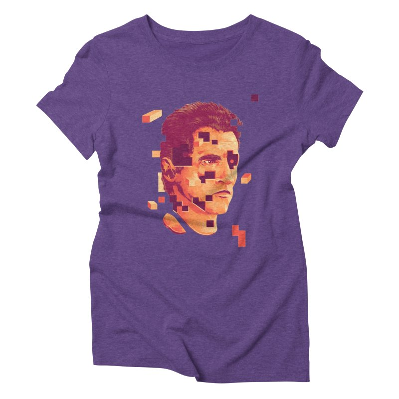 The Terminator Women's Triblend T-Shirt by MB's Collection