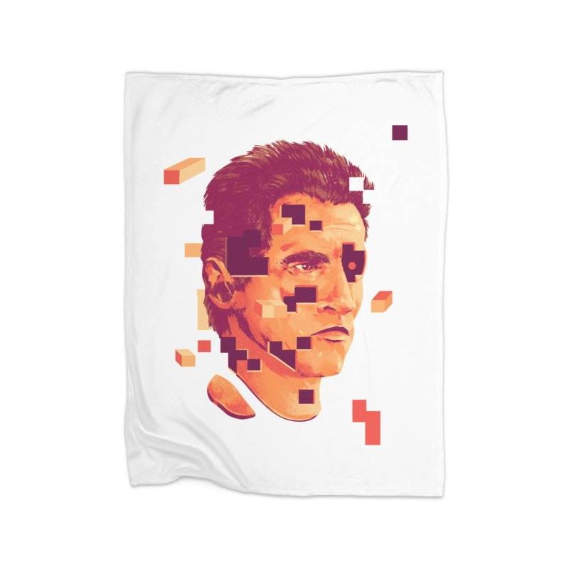 The Terminator Home Fleece Blanket Blanket by MB's Collection
