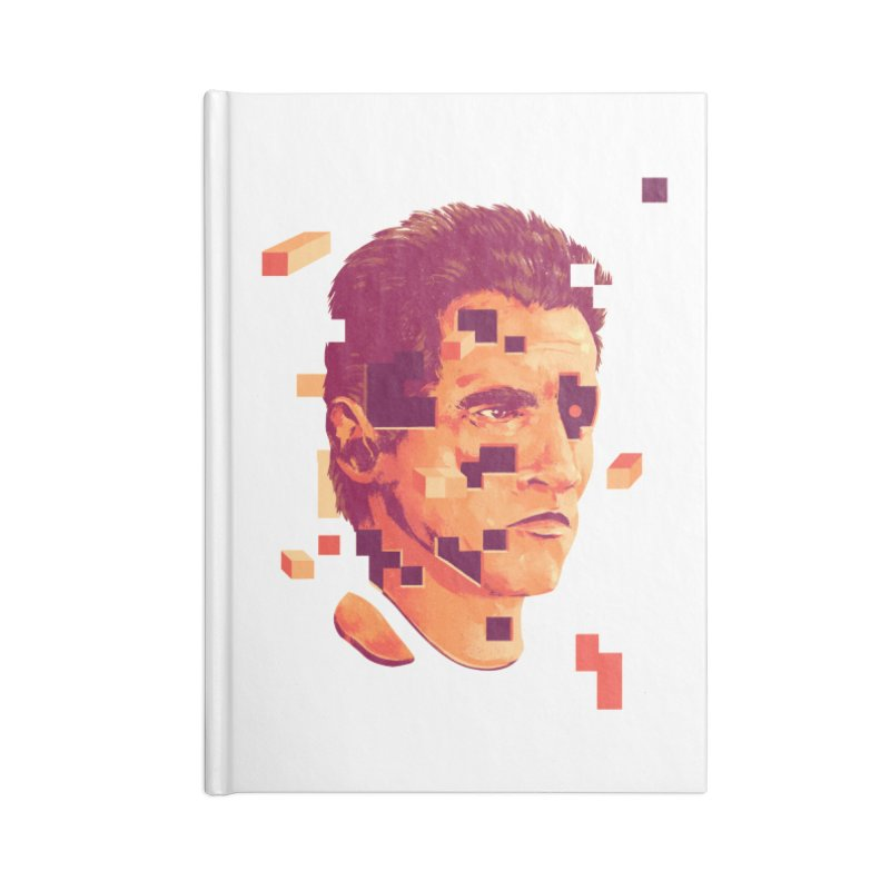 The Terminator Accessories Lined Journal Notebook by MB's Collection