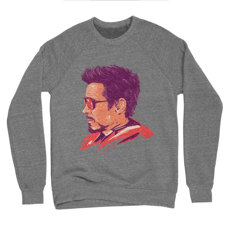 Love you 3000 // Tony Stark Men's Sponge Fleece Sweatshirt by MB's Collection