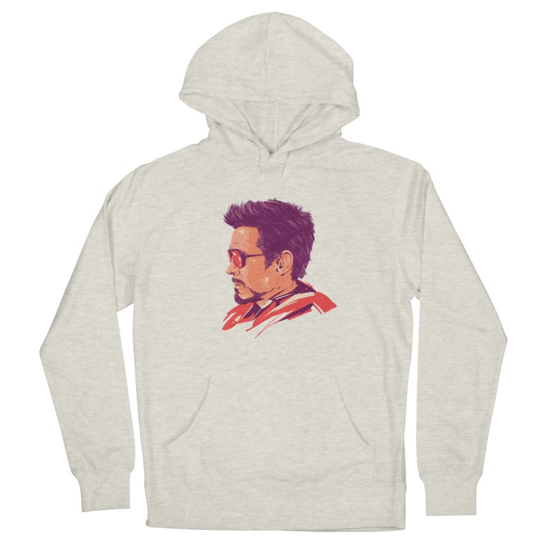 Love you 3000 // Tony Stark Men's French Terry Pullover Hoody by MB's Collection