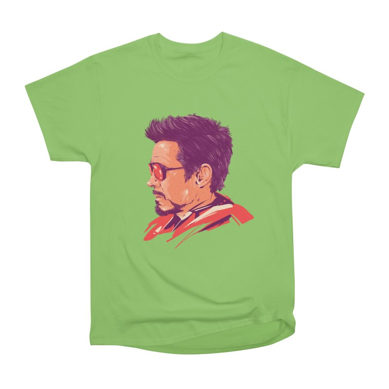 Love you 3000 // Tony Stark Men's Heavyweight T-Shirt by MB's Collection
