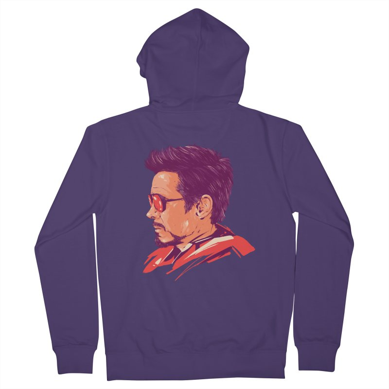 Love you 3000 // Tony Stark Women's French Terry Zip-Up Hoody by MB's Collection