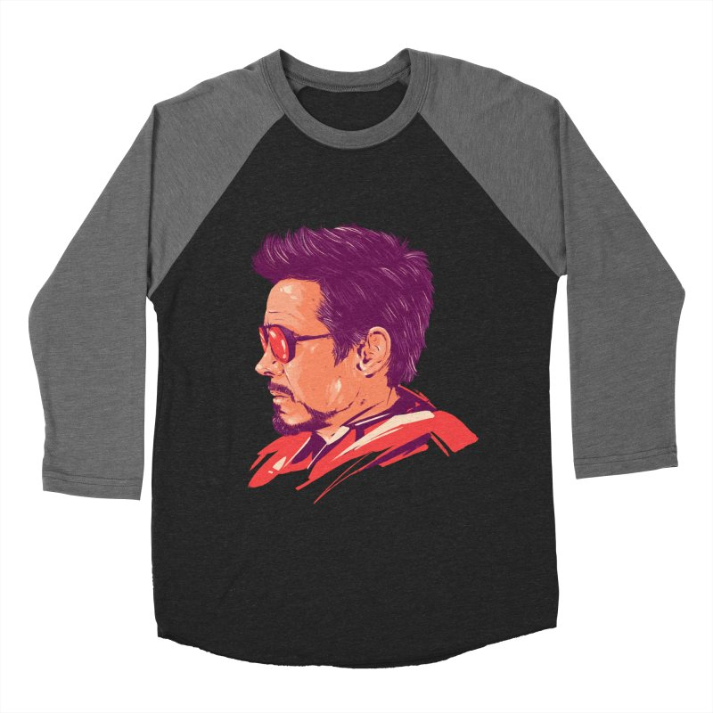 Love you 3000 // Tony Stark Women's Baseball Triblend Longsleeve T-Shirt by MB's Collection