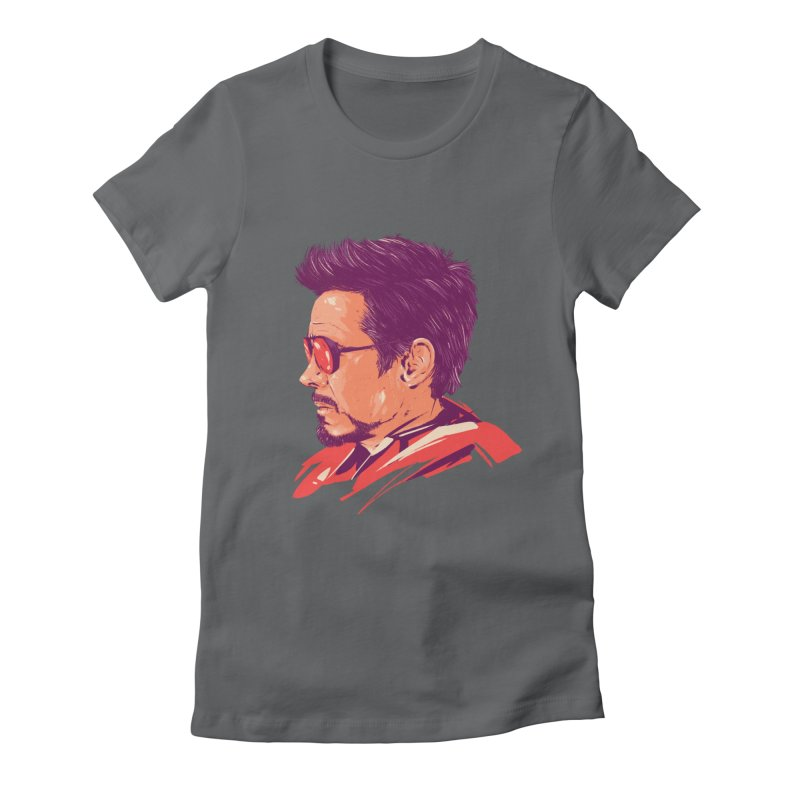 Love you 3000 // Tony Stark Women's Fitted T-Shirt by MB's Collection