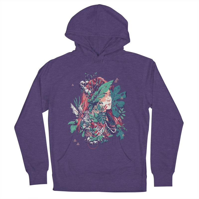 Aloy Men's French Terry Pullover Hoody by MB's Tees