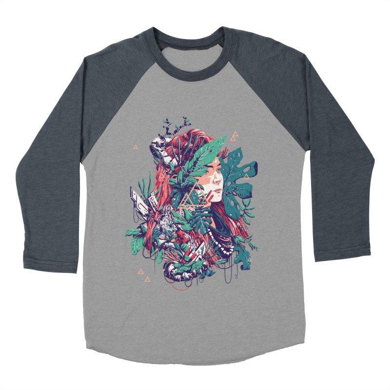 Aloy Women's Baseball Triblend Longsleeve T-Shirt by MB's Tees