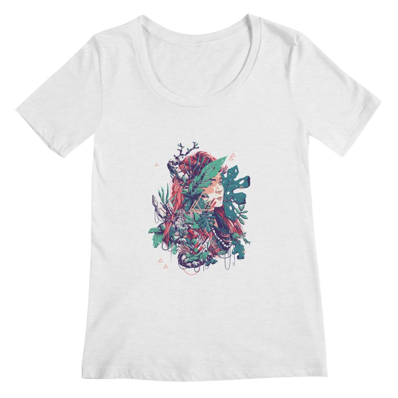 Aloy Women's Regular Scoop Neck by MB's Collection