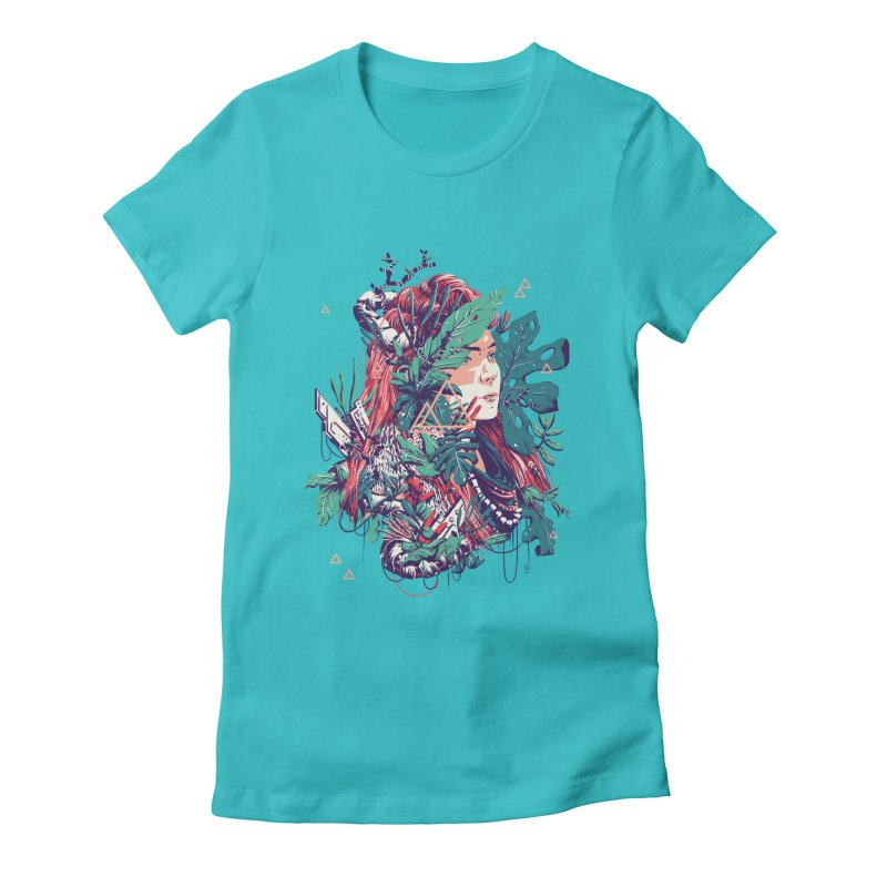 Aloy Women's Fitted T-Shirt by MB's Collection